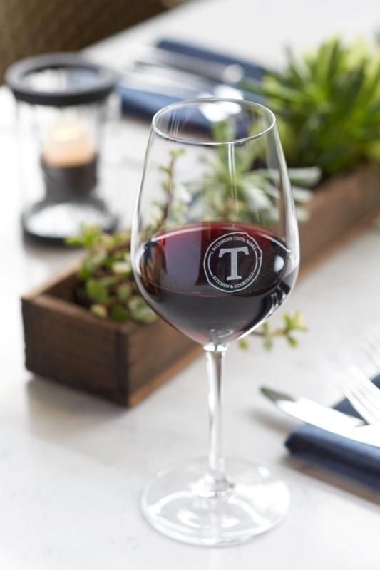 wine selection at testa barra