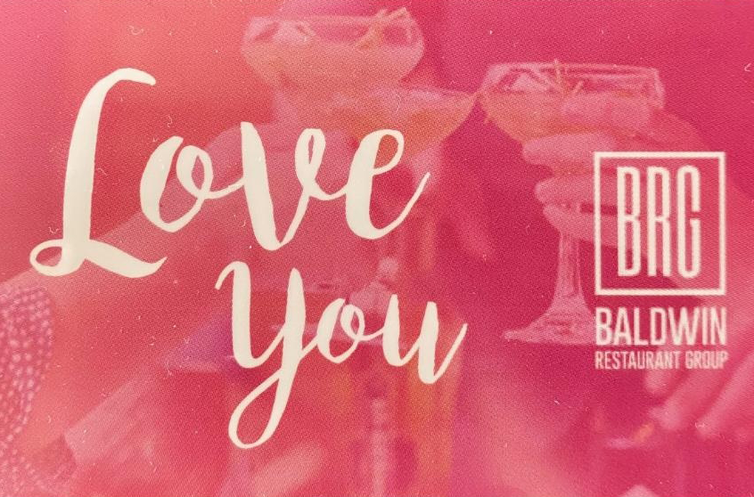 $200 Pink Baldwin Restaurant Group gift card